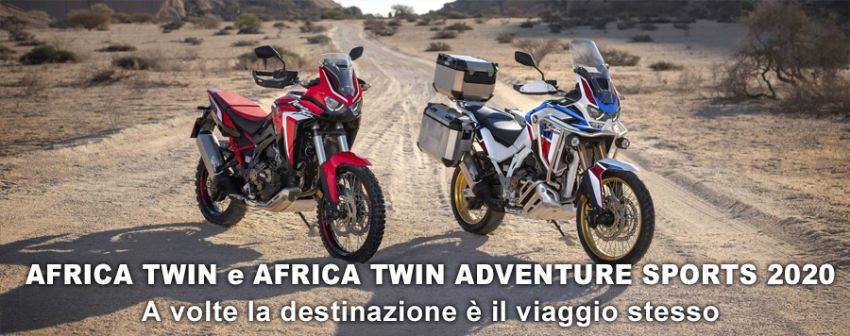 LE NUOVE AFRICA TWIN e AFRICA TWIN ADVENTURE SPORTS