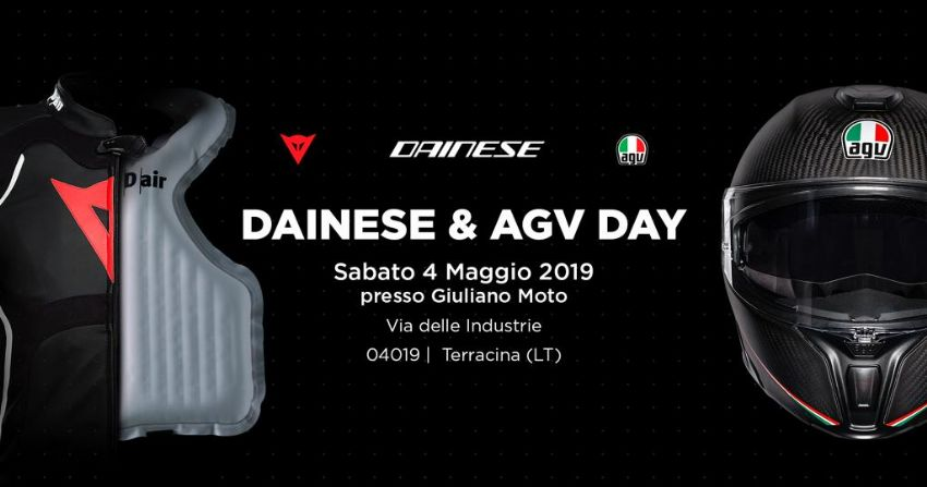 DAINESE & AGV DAY