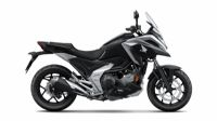 colori - NC750X 2021 - Mat Ballistic Black Metallic
